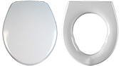 Compact Toilet Seat Option