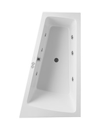 Duravit Paiova 1700mm Corner Right Built-In Bath With Jet System