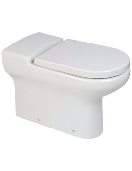 RAK Compact Special Needs Rimless Back To Wall WC Pan - 750mm Projection