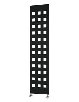 Reina Terano Anthracite Designer Radiator 400 x 1800mm