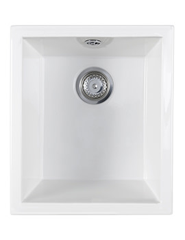 Astracast Onyx Ceramic Inset Or Undermount Sink - 1.0 Bowl