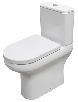 RAK Compact Deluxe Rimless Close Coupled Full Access WC Pack 625mm