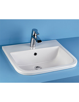 RAK Series 600 500mm Inset Vanity Washbasin