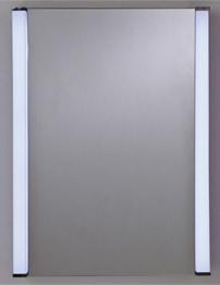 RAK Messina Stainless Steel Single Door Mirror Cabinet 500 x 700mm