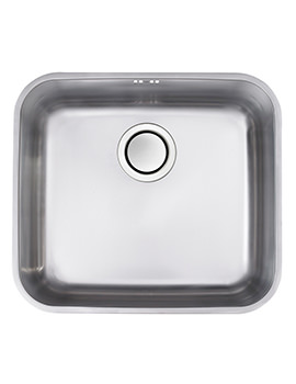 Astracast Edge S2 Polished Stainless Steel Undermount Sink - 1.0 Bowl