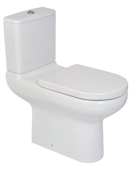 RAK Compact Special Needs Rimless Close Coupled WC Pan 750mm