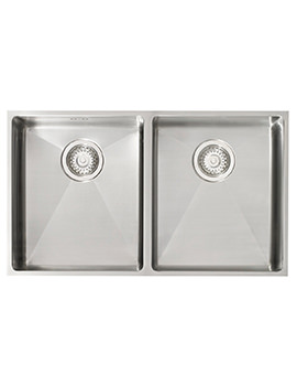 Astracast Onyx 4070 2.0 Bowl Brushed Stainless Steel Flush Inset Sink