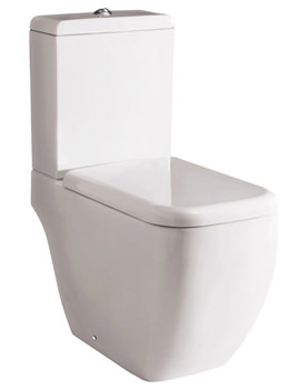 RAK Metropolitan Close Coupled WC Pack With Soft Close Seat 620mm