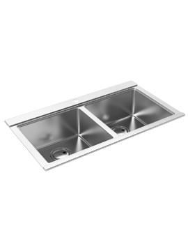 Abode Logik 2.0 Bowl Stainless Steel Kitchen Sink