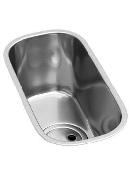 Abode Matrix R50 Brushed Kitchen Stainless Steel 0.5 Bowl Sink
