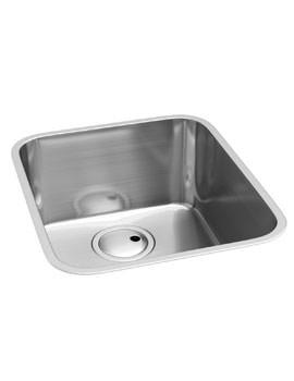 Abode Matrix R50 Stainless Steel Undermount Kitchen Single Sink