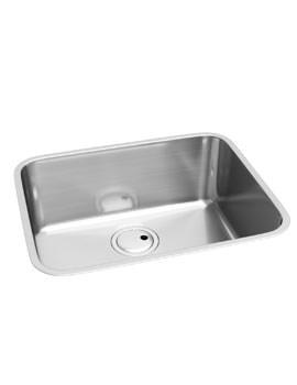 Abode Matrix R50 1.0 Bowl Stainless Steel Undermount Kitchen Sink