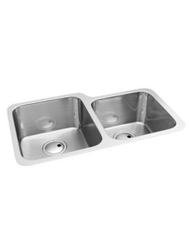 Abode Matrix R50 1.75 LH Main Bowl Undermount Stainless Steel Kitchen Sink