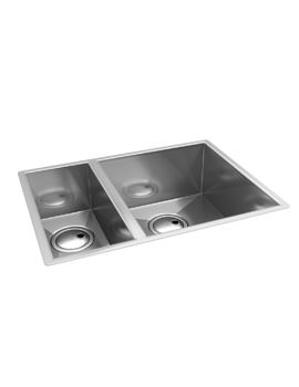 Abode Matrix R0 1.5 Bowl Stainless Steel Undermount Right Hand Kitchen Sink