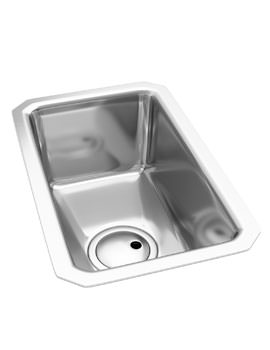 Abode Matrix R25 0.5 Bowl Stainless Steel Kitchen Undermount Sink