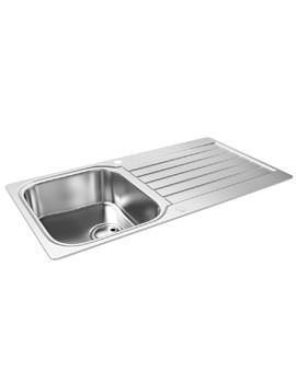 Abode Arka 1.0 Bowl Reversible Stainless Steel Kitchen Sink