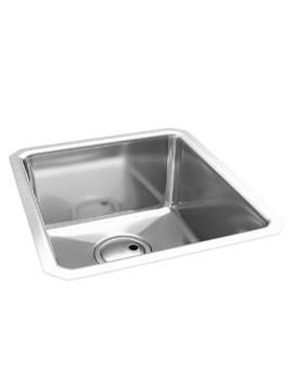 Abode Matrix R25 1.0 Bowl Stainless Steel Undermount Kitchen Sink