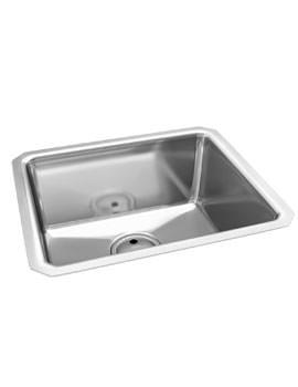Abode Matrix R25 Stainless Steel Large Bowl 1.0 Kitchen Sink