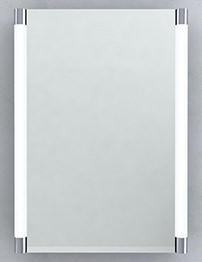 RAK Florence Stainless Steel Single Door Mirror Cabinet 500 x 700mm