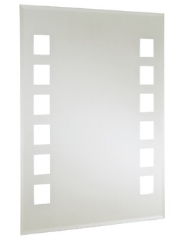 RAK Monet 500 x 700mm Backlit Mirror With Shaver Socket