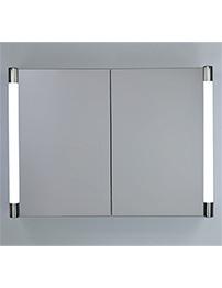 RAK Verona Stainless Steel Double Door Mirror Cabinet 700 x 500mm