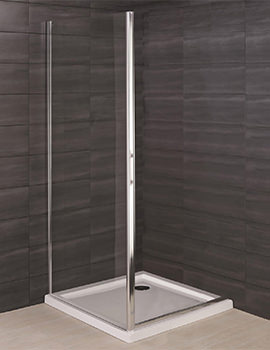 RAK Deluxe 8 800mm Side Panel For Shower Door