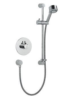 Mira Miniduo And Eco Showerhead BIV Thermostatic Mixer Shower