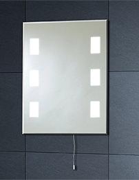 Phoenix Calisto Illuminated Back Lit Mirror 500 x 390mm