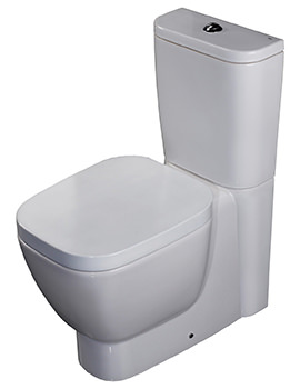 RAK Elena Close Coupled WC Pack With Soft Close Seat 625mm