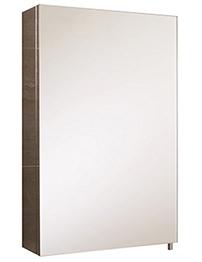 RAK Cube Stainless Steel Single Door Mirror Cabinet 400 x 600mm