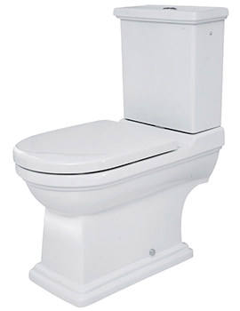 RAK Empire Close Coupled WC Pan And Dual Flush Cistern 690mm