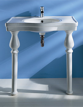 RAK Console Alexandra 850mm Basin With Ceramic Legs