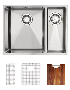 Astracast Onyx 4053 Stainless Steel Inset Sink And Accessories - 1.5 Bowl