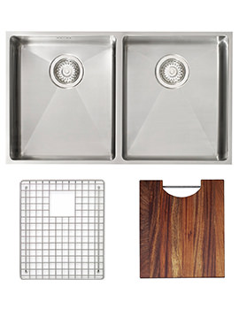 Astracast Onyx 4070 Stainless Steel Inset Sink And Accessories - 2.0 Bowl