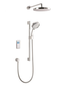 Mira Vision Dual Pumped Digital Mixer Shower - Rear Fed