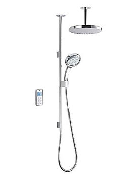 Mira Vision Dual High Pressure Digital Mixer Shower - Ceiling Fed