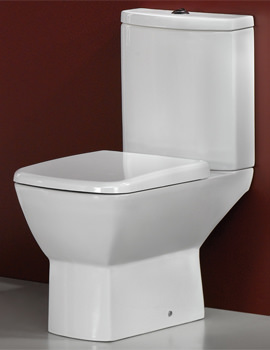 RAK Summit Close Coupled WC Pack With Soft Close Seat 650mm