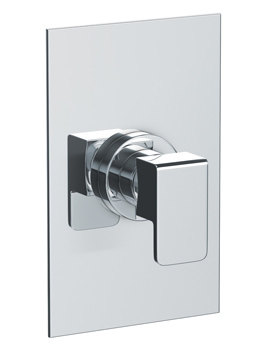 Abode Fervour Concealed Manual Shower Valve 1 Exit Chrome