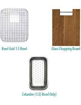 Astracast Ocean Accessory Pack For 1.5 Bowl Kitchen Sink