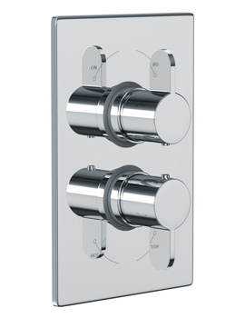 Abode Bliss Concealed Thermostatic Shower Valve 1 Exit Chrome