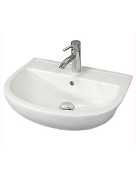 RAK Compact 450mm Semi Recessed Basin