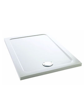 Mira Flight Safe White 1700 x 760mm Lower Level Shower Tray