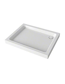 Mira Flight 2 Upstand Square Shower Tray With Waste