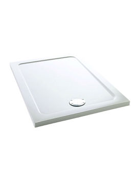 Mira Flight Low Rectangular Shower Tray 1200 x 760mm White