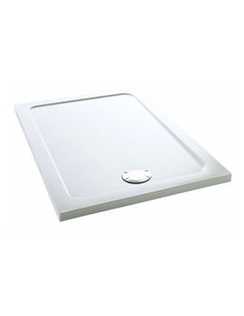 Mira Flight Low 1400 x 800mm Rectangle Shower Tray With Waste