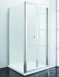 Manhattan New Era 6 900mm Bifold Shower Door