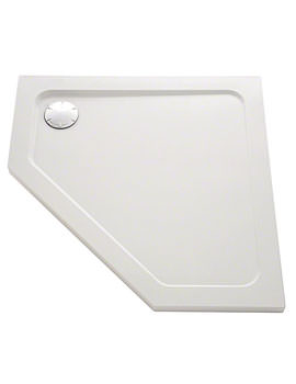 Mira Flight Safe 1200 x 900mm Right Handed Pentagon Shower Tray