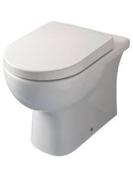 RAK Tonique Back To Wall Pan With Soft Close Toilet Seat 550mm