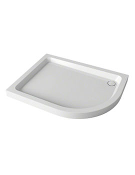 Mira Flight 1000 x 800mm Quadrant Shower Tray - RH