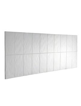 Mira Flight 2000 x 500mm Bath Splash Back White Wall Panel
